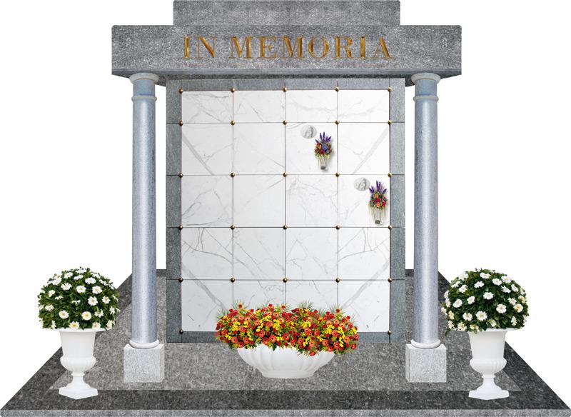 Prefabbricati cimiteriali r p prefabbricati ed edilizia for Arredi cimiteriali
